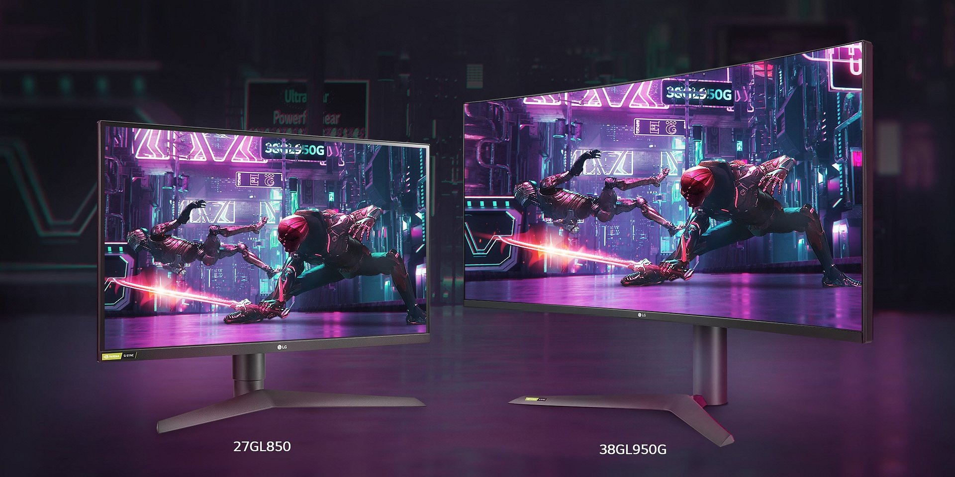 LG prezentuje poszerzoną linię monitorów gamingowych UltraGear z matrycą IPS o czasie reakcji 1 ms