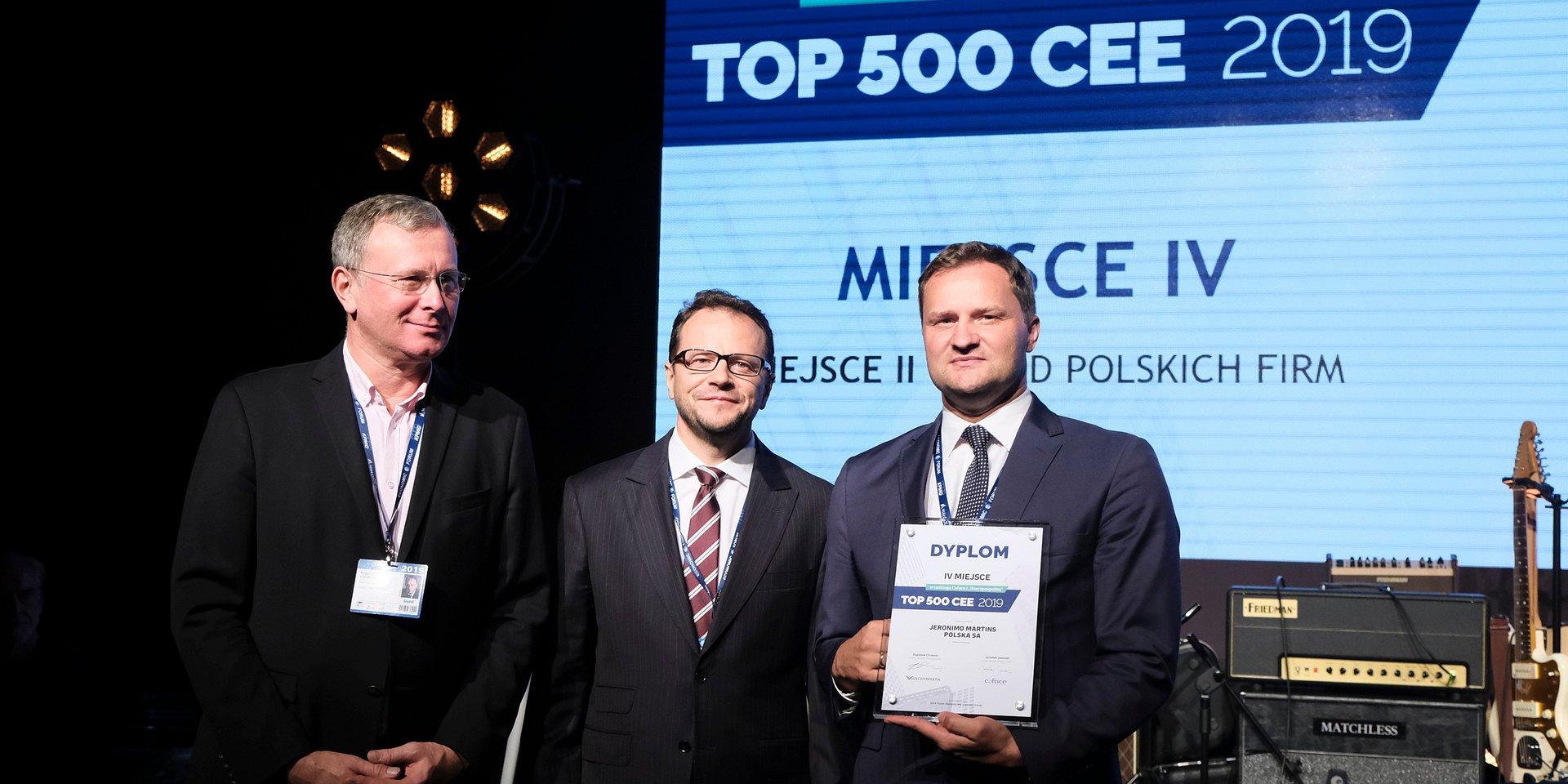 Ranking TOP CEE: właściciel sieci Biedronka między gigantami