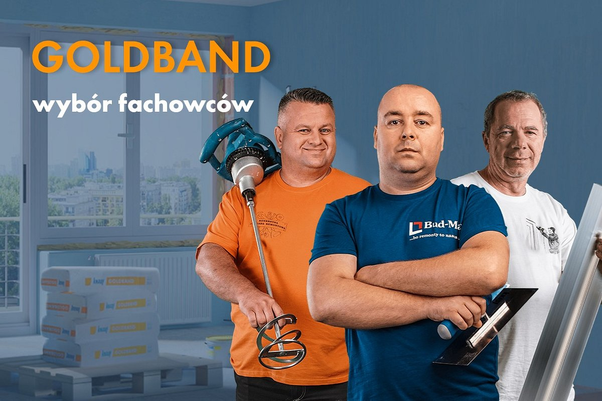 Knauf promuje swój flagowy produkt - Goldband. Za działania w Internecie odpowiada Codemedia