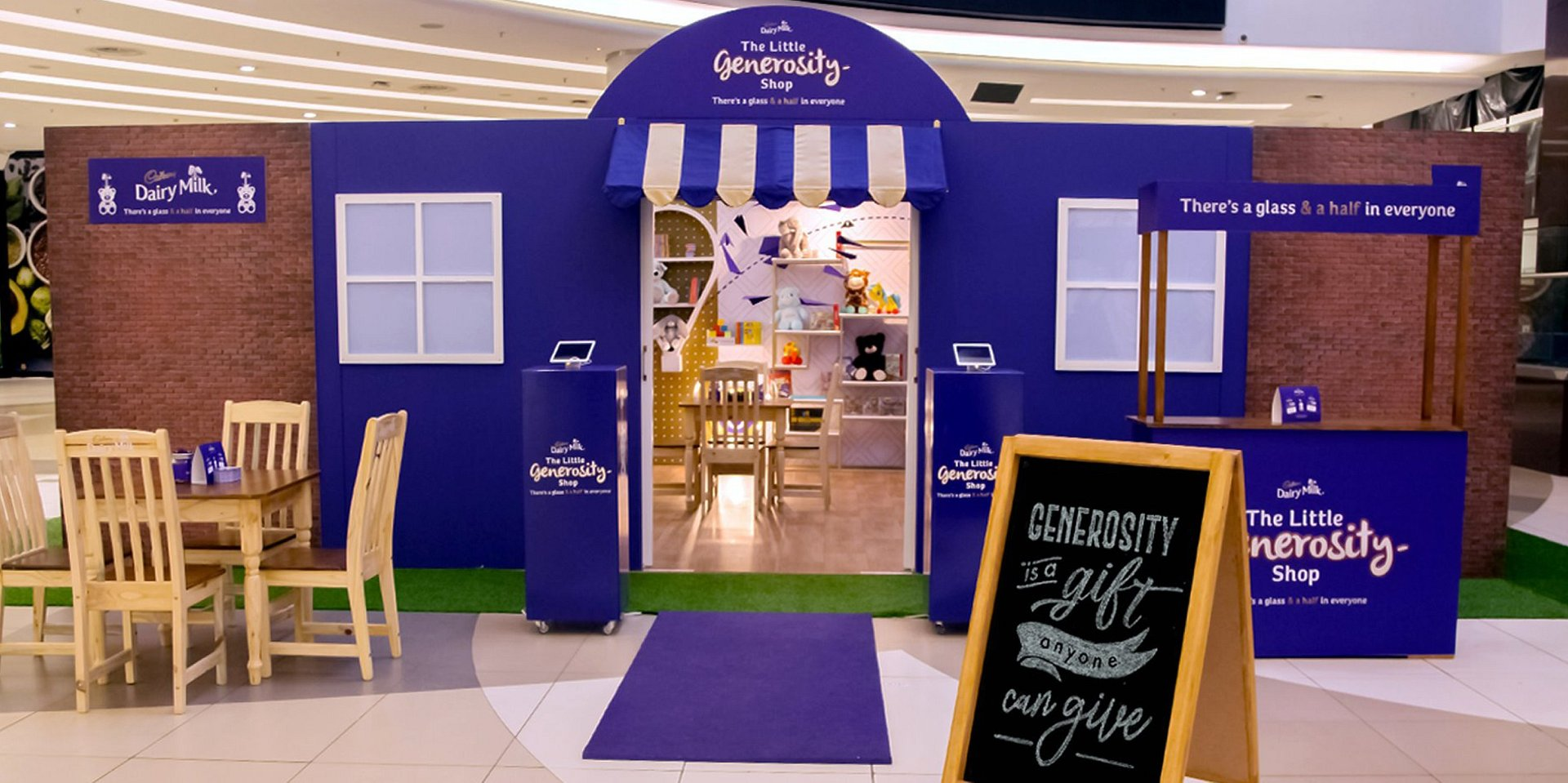 Cadbury Diary Milk collects 90, 898 pre-loved toys, books and games through 'The Little Generosity Shop' initiative