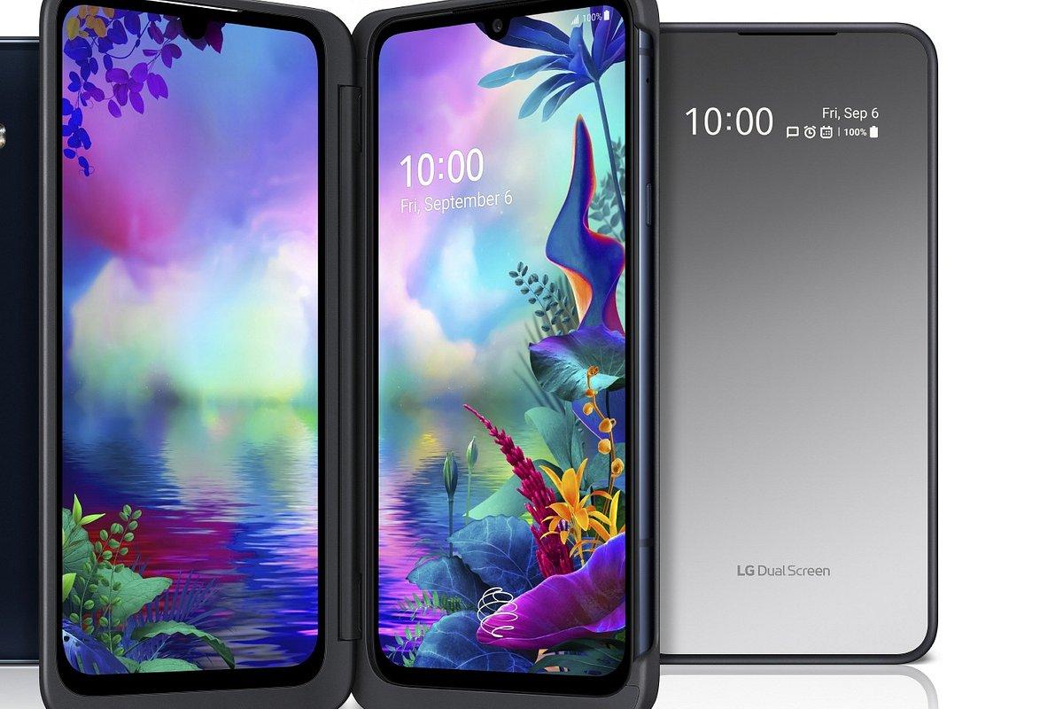 LG prezentuje flagowy smartfon G8X ThinQ z udoskonalonym dodatkowym ekranem LG Dual Screen