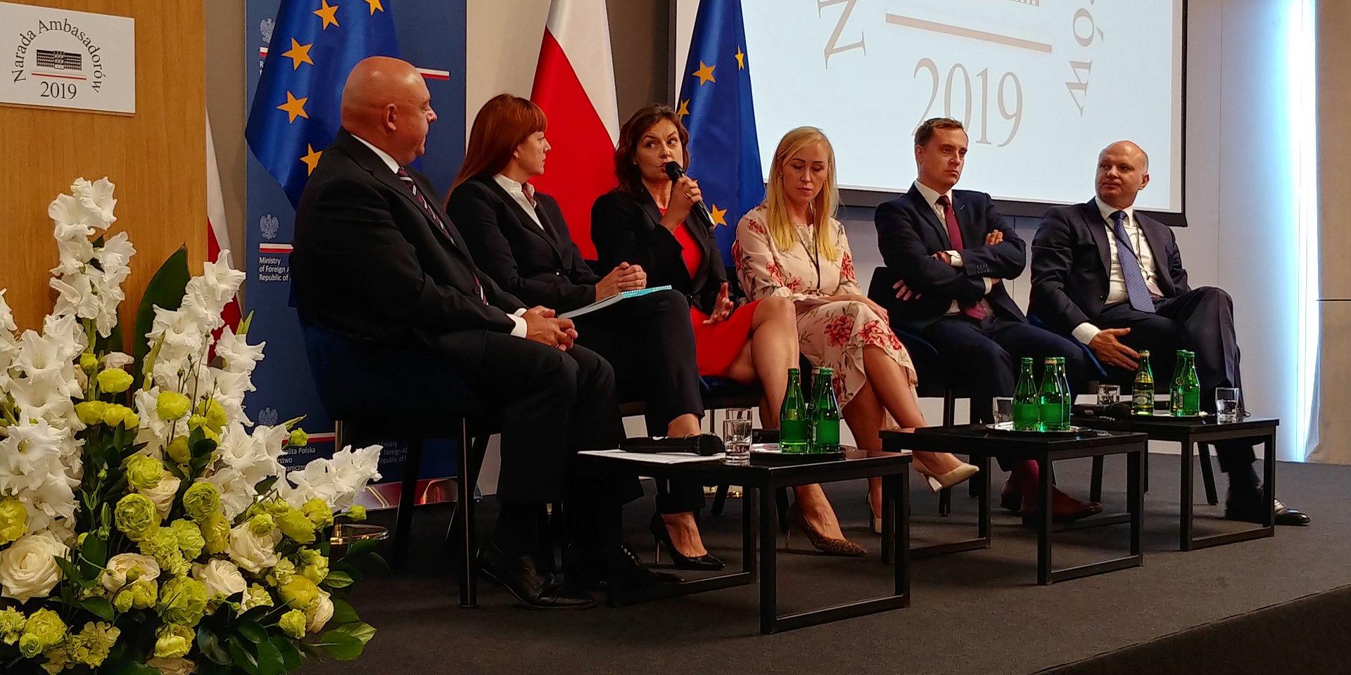 Dyplomacja ekonomiczna ważnym elementem w ekspansji zagranicznej polskich firm
