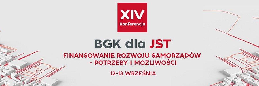 Zaproszenie na XIV Konferencję BGK dla JST