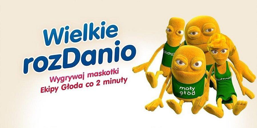 Maskotki Małego Głoda i jego Ekipy do zdobycia w Wielkim rozDanio!