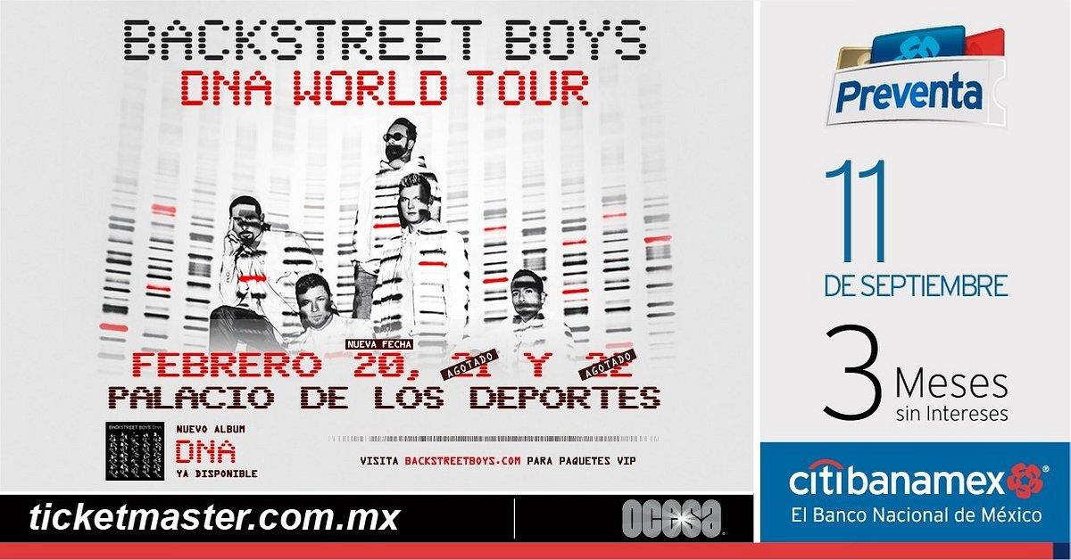 Backstreet Boys anuncian tercer concierto en CDMX