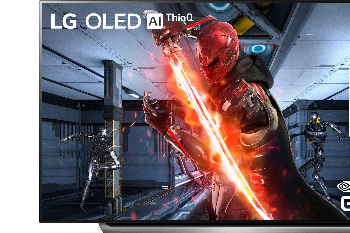 LG prezentuje pierwsze telewizory OLED z obsługą technologii NVIDIA G-SYNC