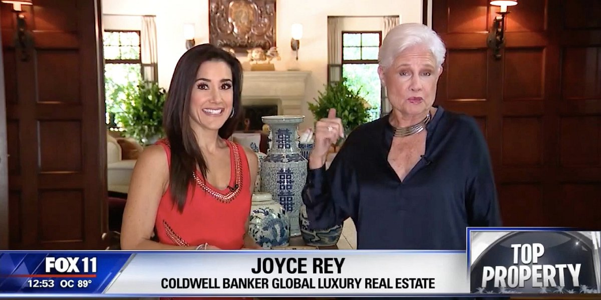 Fox 11 Features Vincent Price's Former Home Listed by Coldwell Banker Residential Brokerage