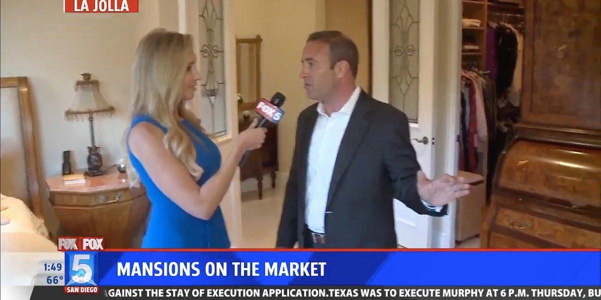 Fox 5 News Mansions on the Market Highlights 1678 Marisma Way in La Jolla, Calif.
