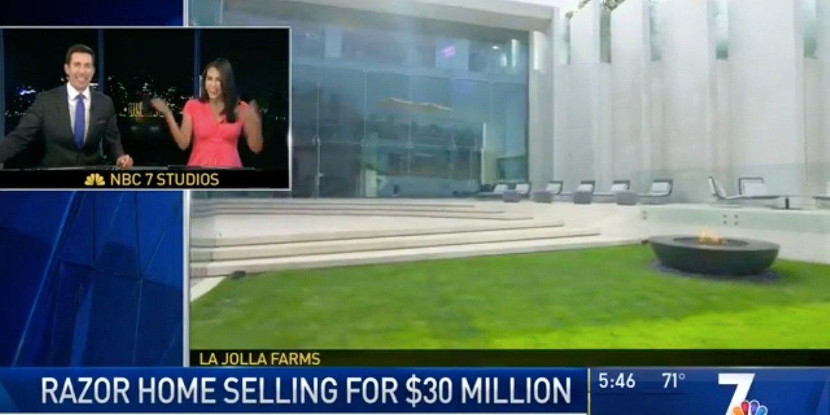 NBC 7 News Showcases Razor House