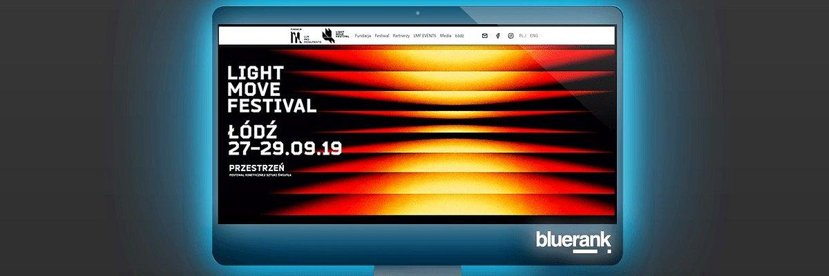 Bluerank rozświetli Internet dla Light Move Festival!