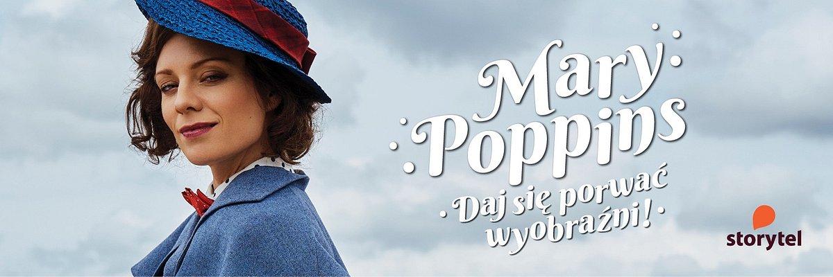 Daj się porwać wyobraźni z Mary Poppins w Storytel!