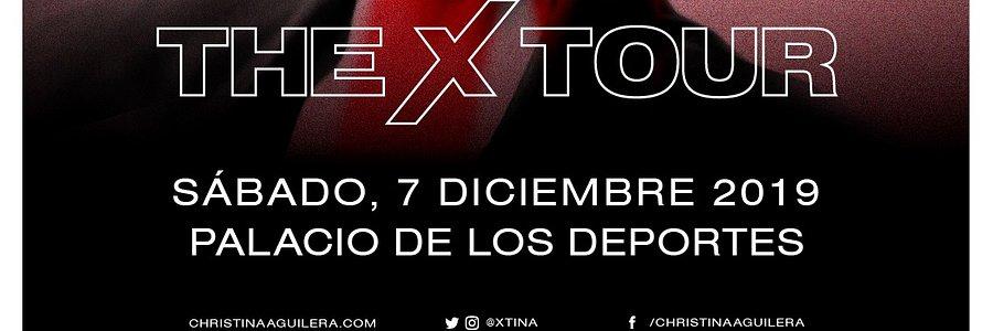 CHRISTINA AGUILERA TRAERÁ SU X TOUR A MÉXICO