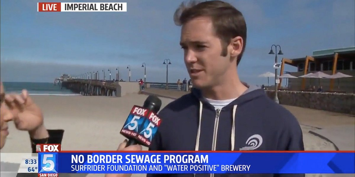 Fox 5 San Diego Features Upcoming Imperial Beach Clean-Up Event