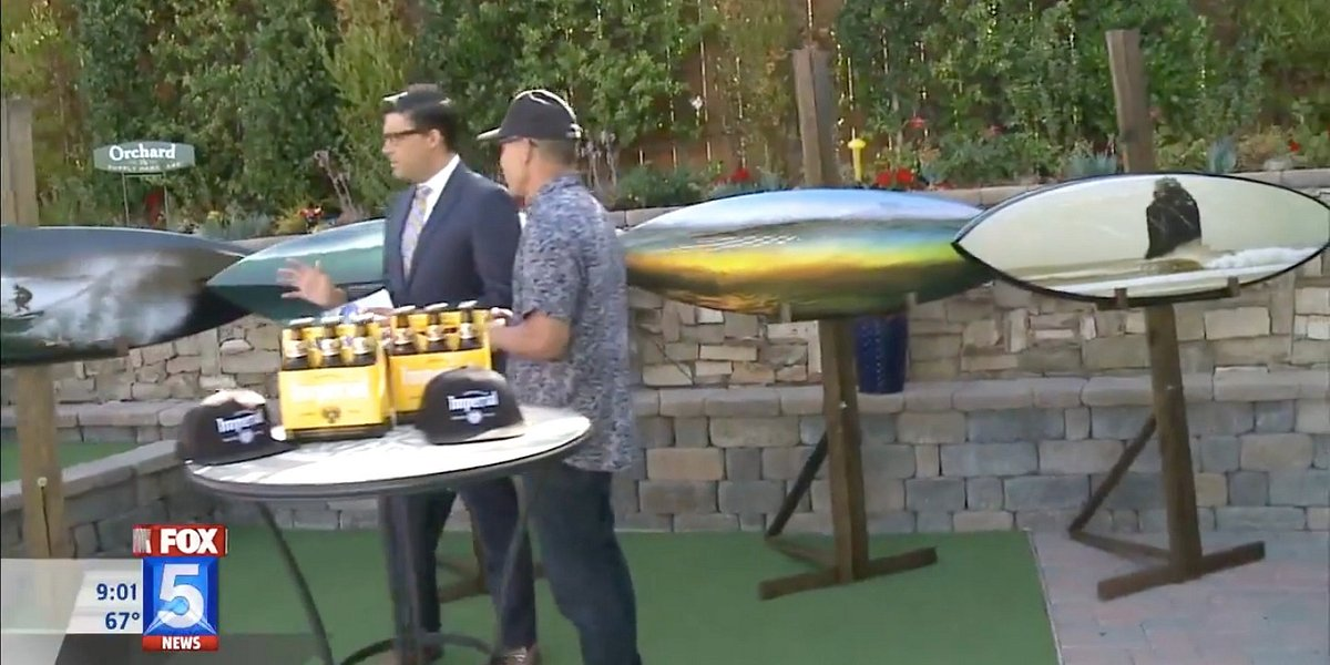 Aaron Chang's Cerveza Imperial Surfboard Collection for Auction to Benefit Surfrider