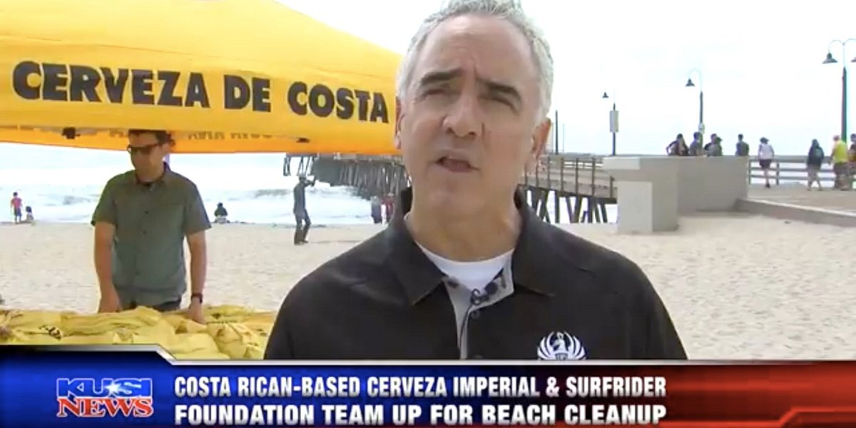 KUSI News Highlights Imperial Beach Clean Up Event