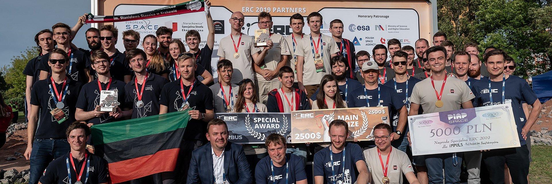 Drużyna IMPULS zwycięzcą European Rover Challenge 2019
