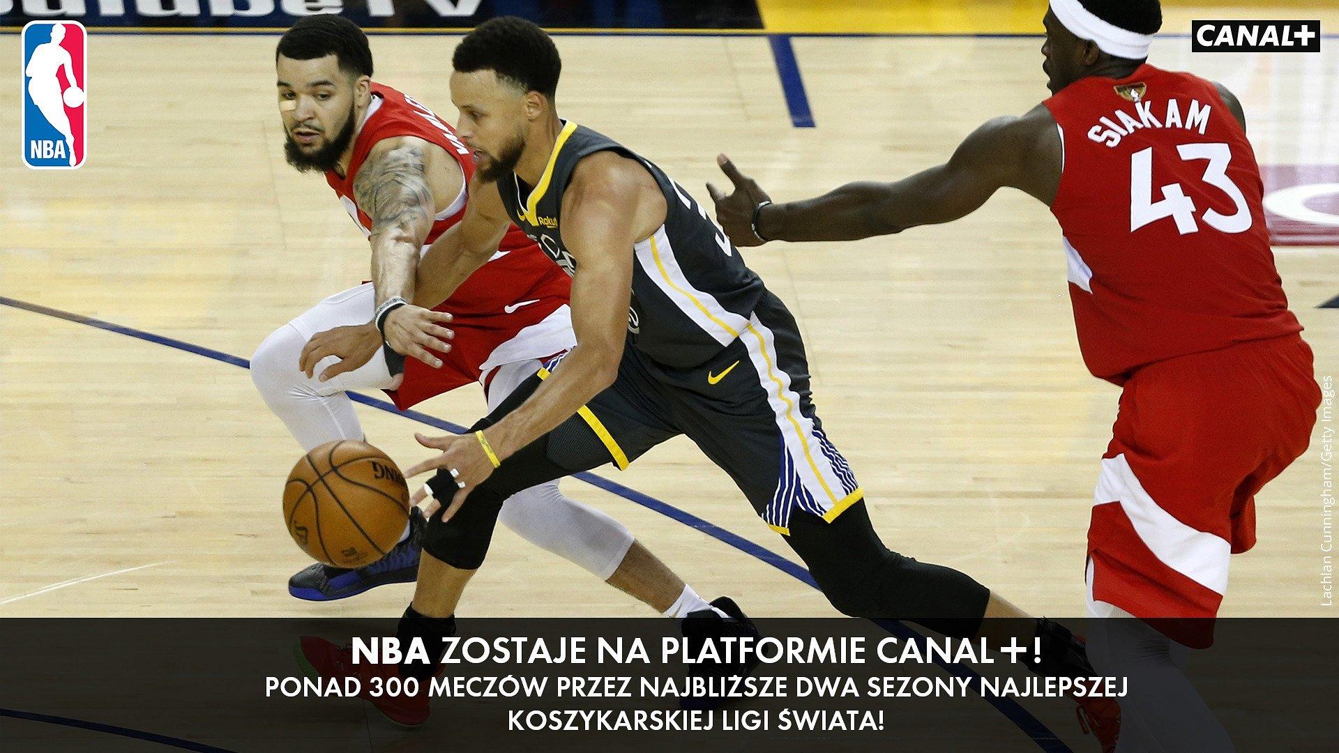 Platforma CANAL+ z prawami do NBA – najlepszej koszykarskiej ligi świata