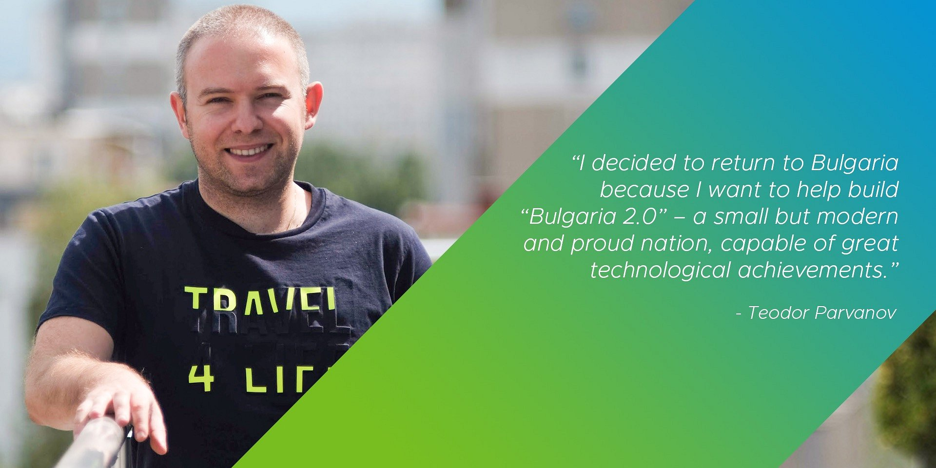 Meet the speakers: Teodor Parvanov, Senior Software Engineer, vSphere Analytics (and exploring Blockchain!)