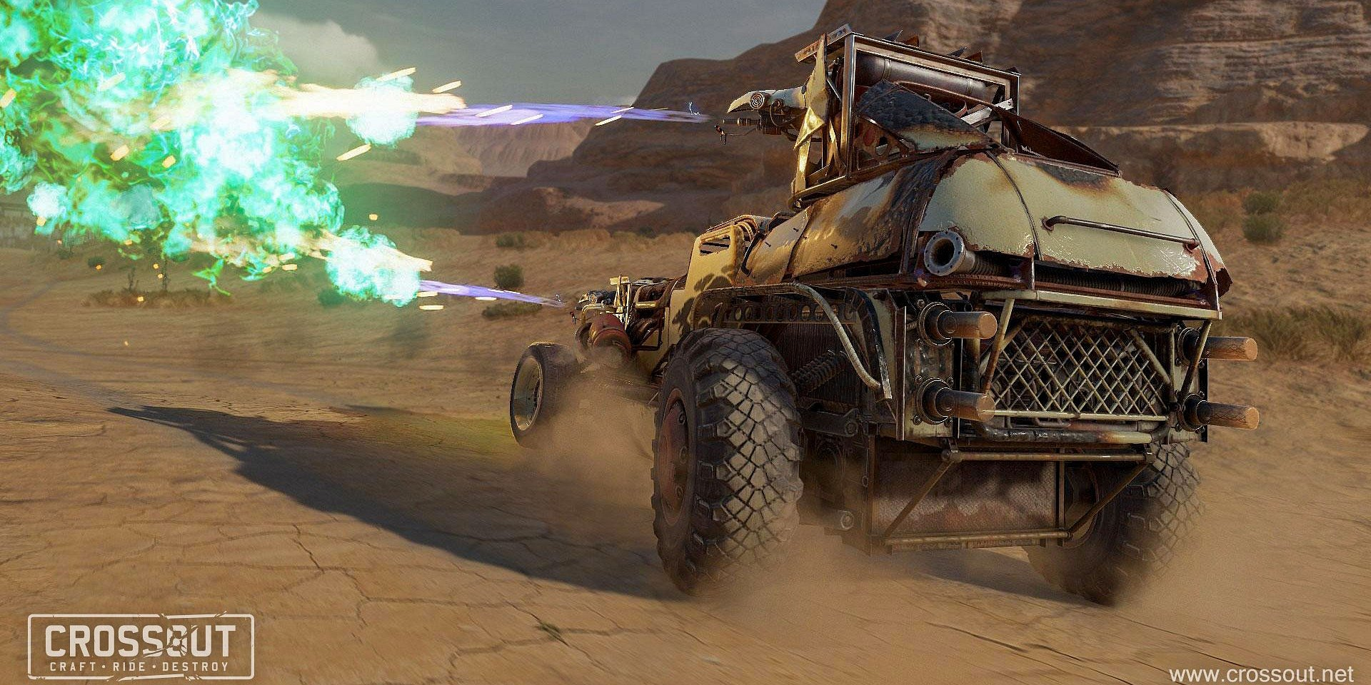 Aktualizácia hry Crossout 0.10.80 prináša nové PVP mapy chemických závodov, stavebné súťaže a štvrté jazdecké obrnené vozidlo
