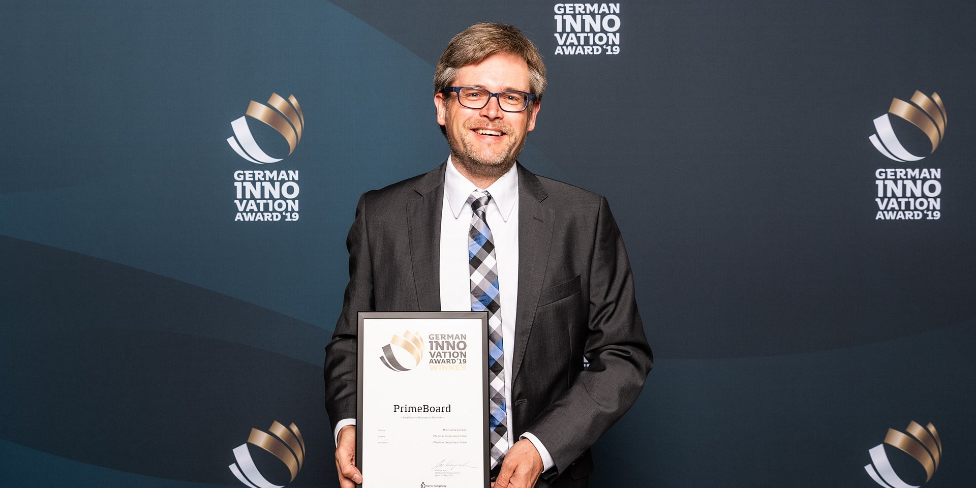 Płyta PrimeBoard nagrodzona German Innovation Award 2019