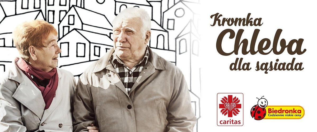 I ty możesz pomóc seniorom robiąc zakupy w Biedronce