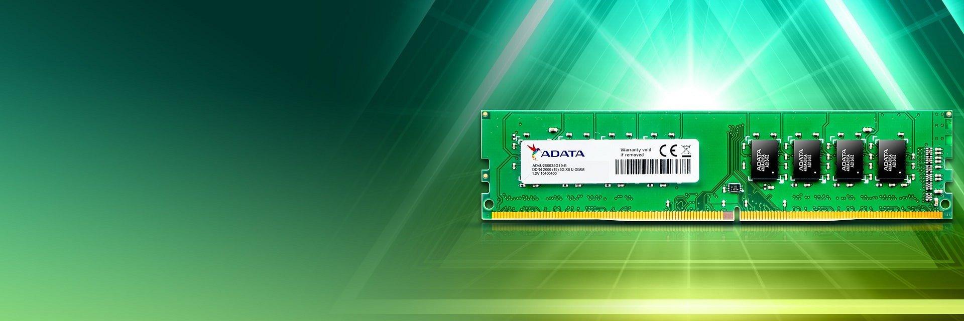 Kości pamięci RAM ADATA DDR4 od teraz także w wersji o pojemności 32 GB