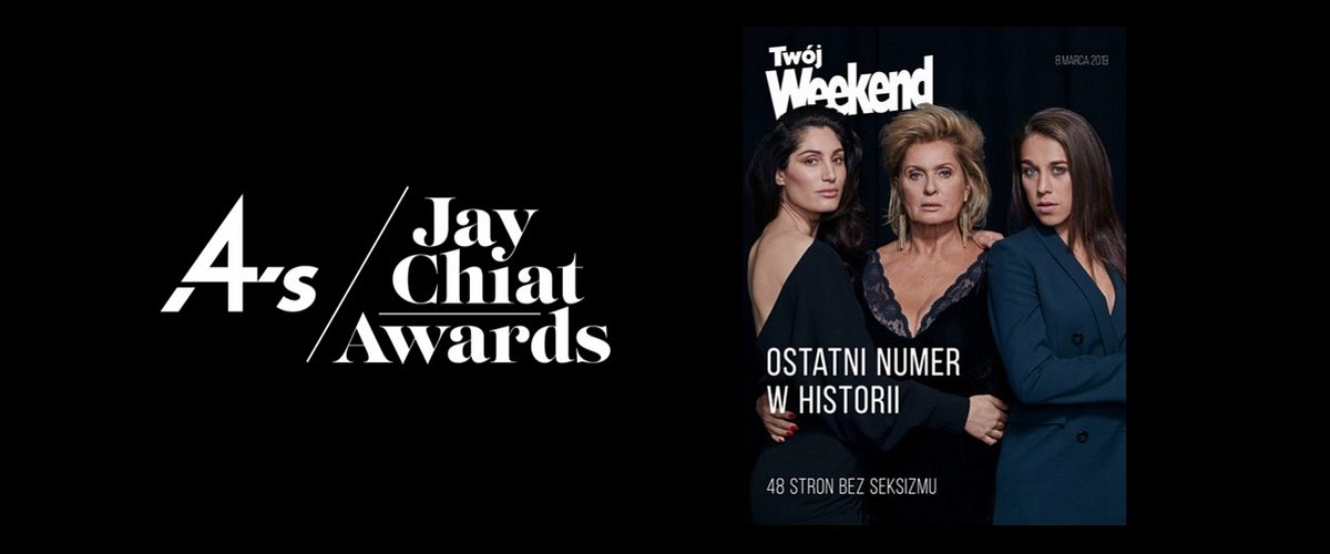 """Ostatni Twój Weekend"" na shortliście Jay Chiat Awards 2019"