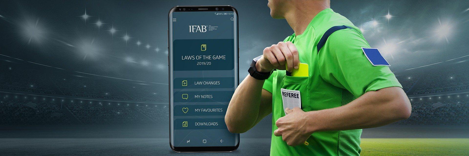 Piłka nożna: pierwsza w historii oficjalna aplikacja z Przepisami Gry