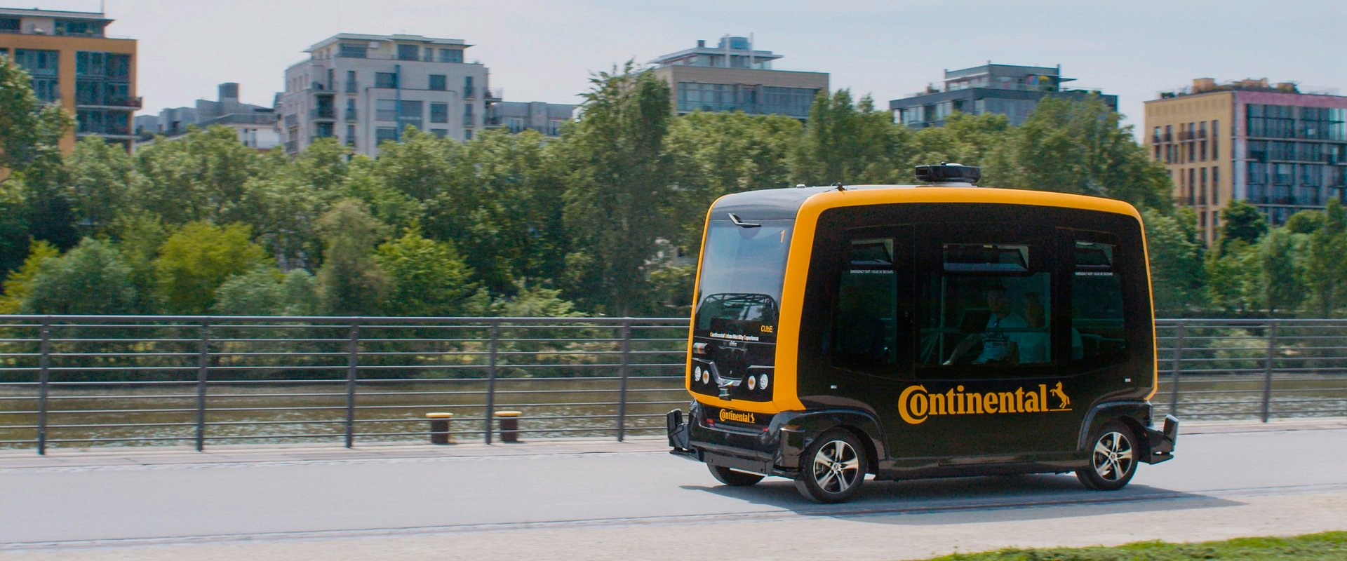 Continental rozpoczyna produkcję systemów do robo-taksówek