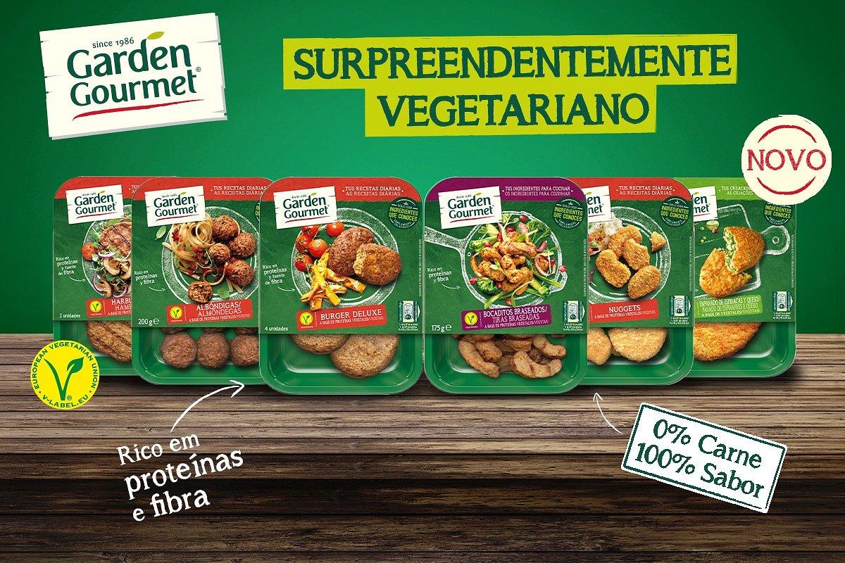 GARDEN GOURMET®: surpreendentemente vegetariana!