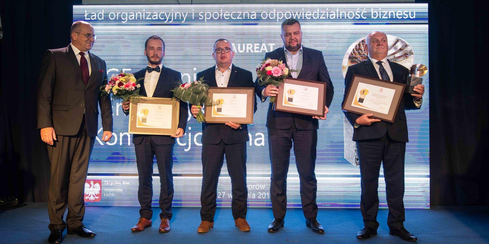 Wyróżnienie w konkursie Wojewody Łódzkiego