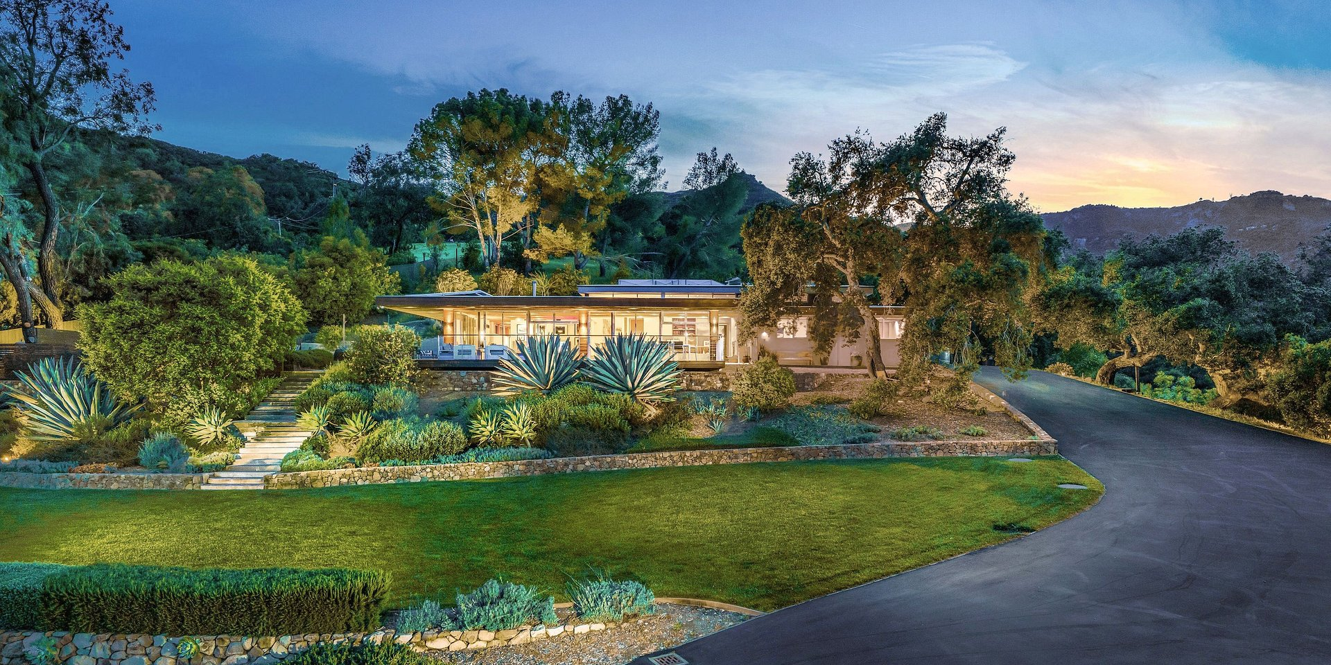 Coldwell Banker Residential Brokerage Lists Topanga Property Owned by an American Actor for $4.8 Million