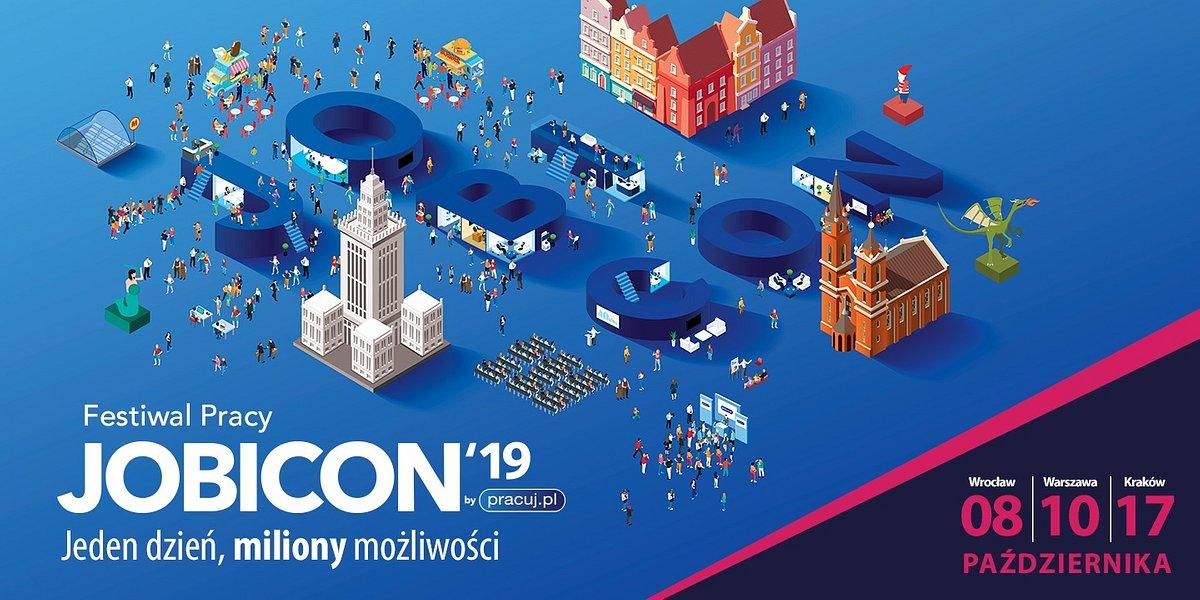 JOBICON czas start! Festiwal Pracy we Wrocławiu, Warszawie i Krakowie