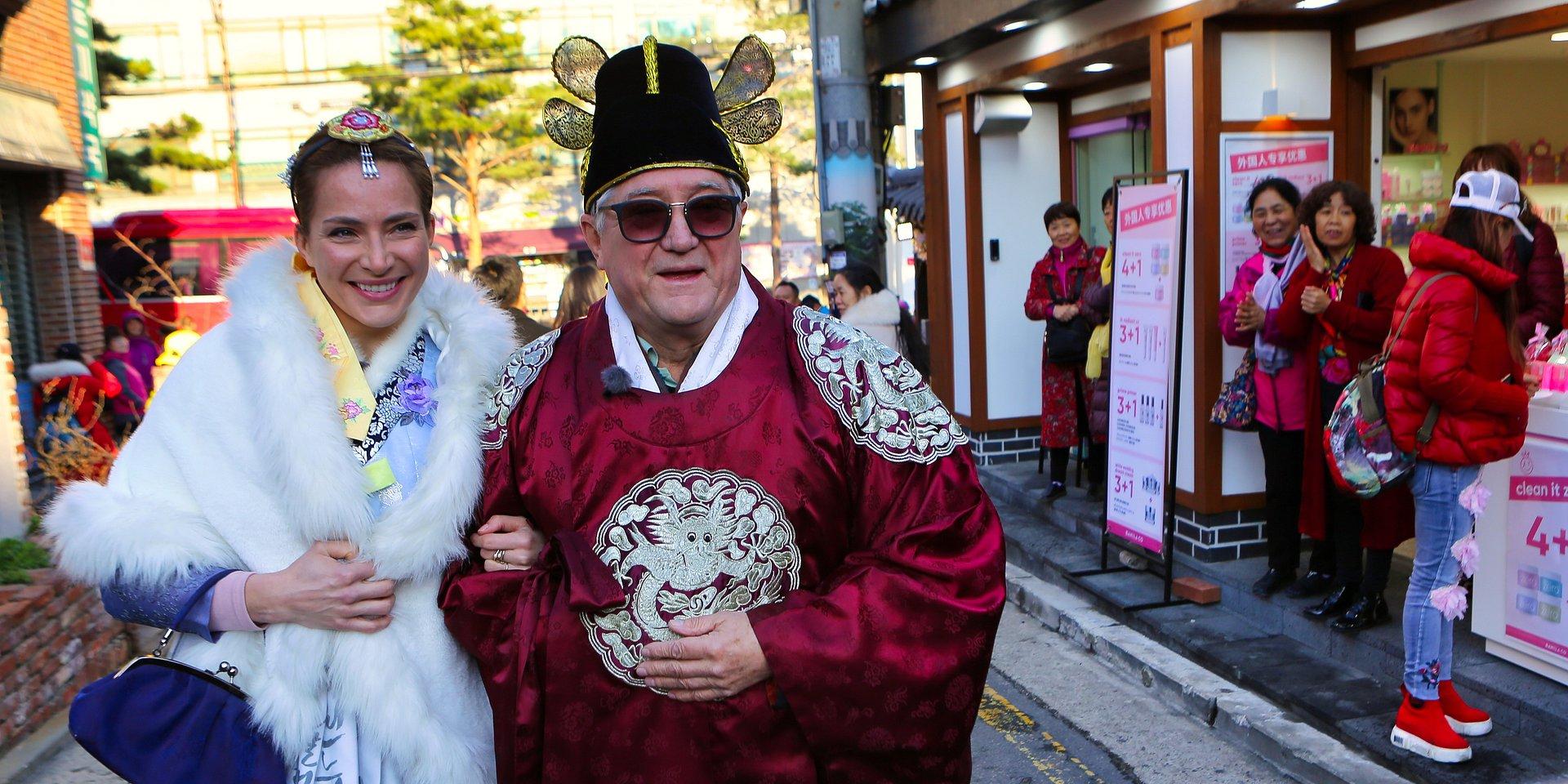Starsza pani musi fiknąć: Pełna wzruszeń i pięknych chwil podróż Anny Dereszowskiej i jej taty Krzysztofa do Korei Południowej!
