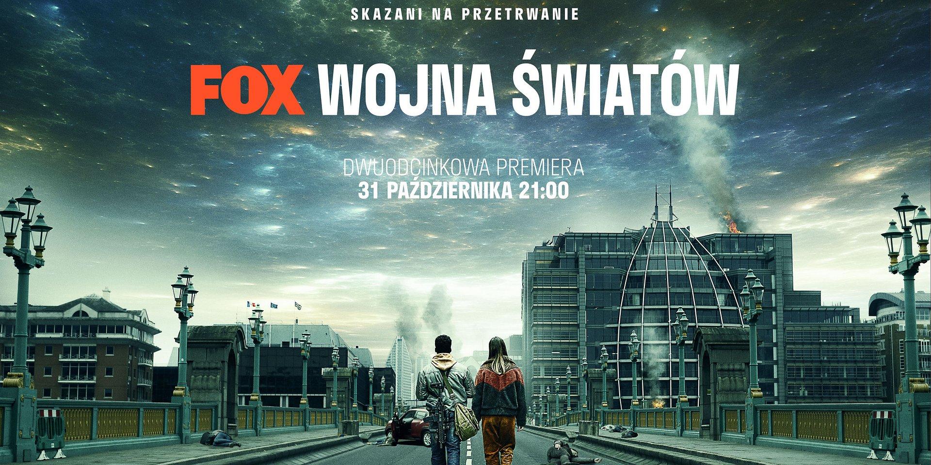 Serial WOJNA ŚWIATÓW zadebiutuje na antenie FOX już 31 października o 21:00!