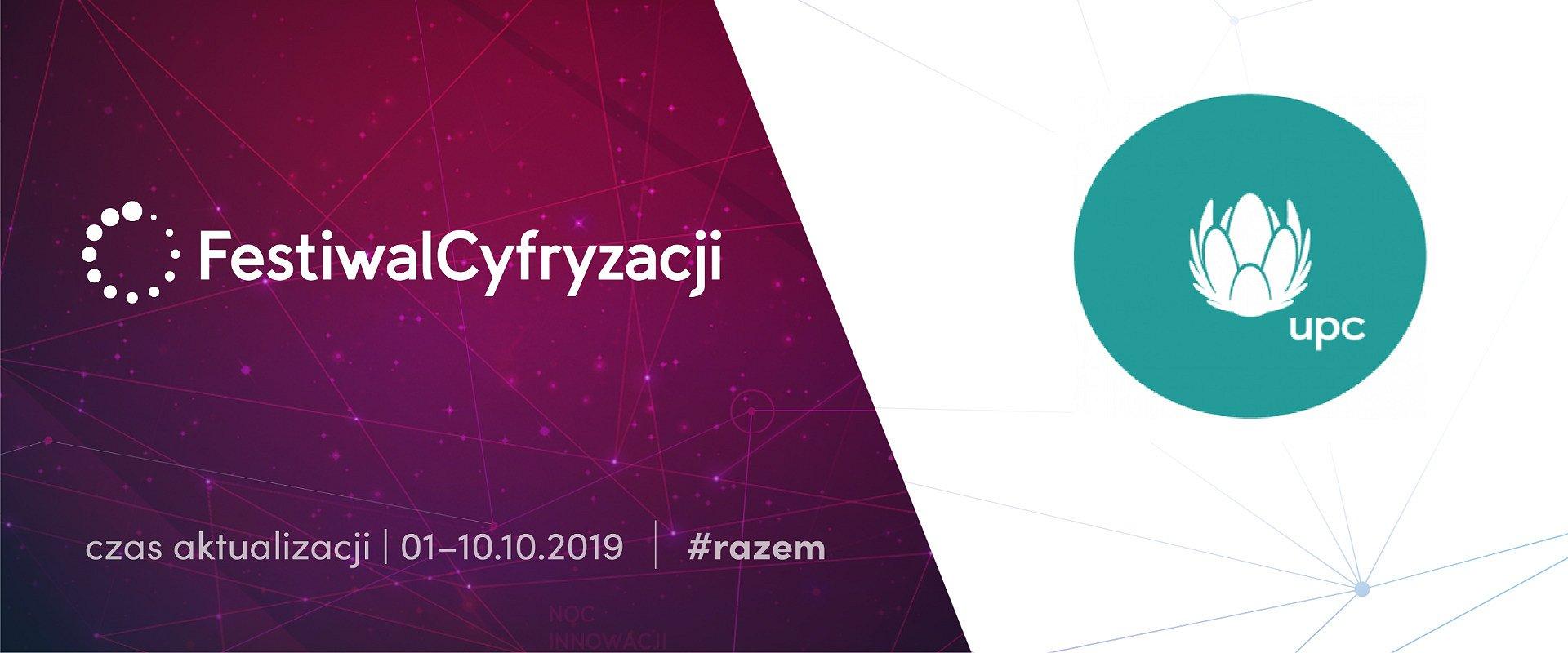 UPC Polska partnerem strategicznym Festiwalu Cyfryzacji!