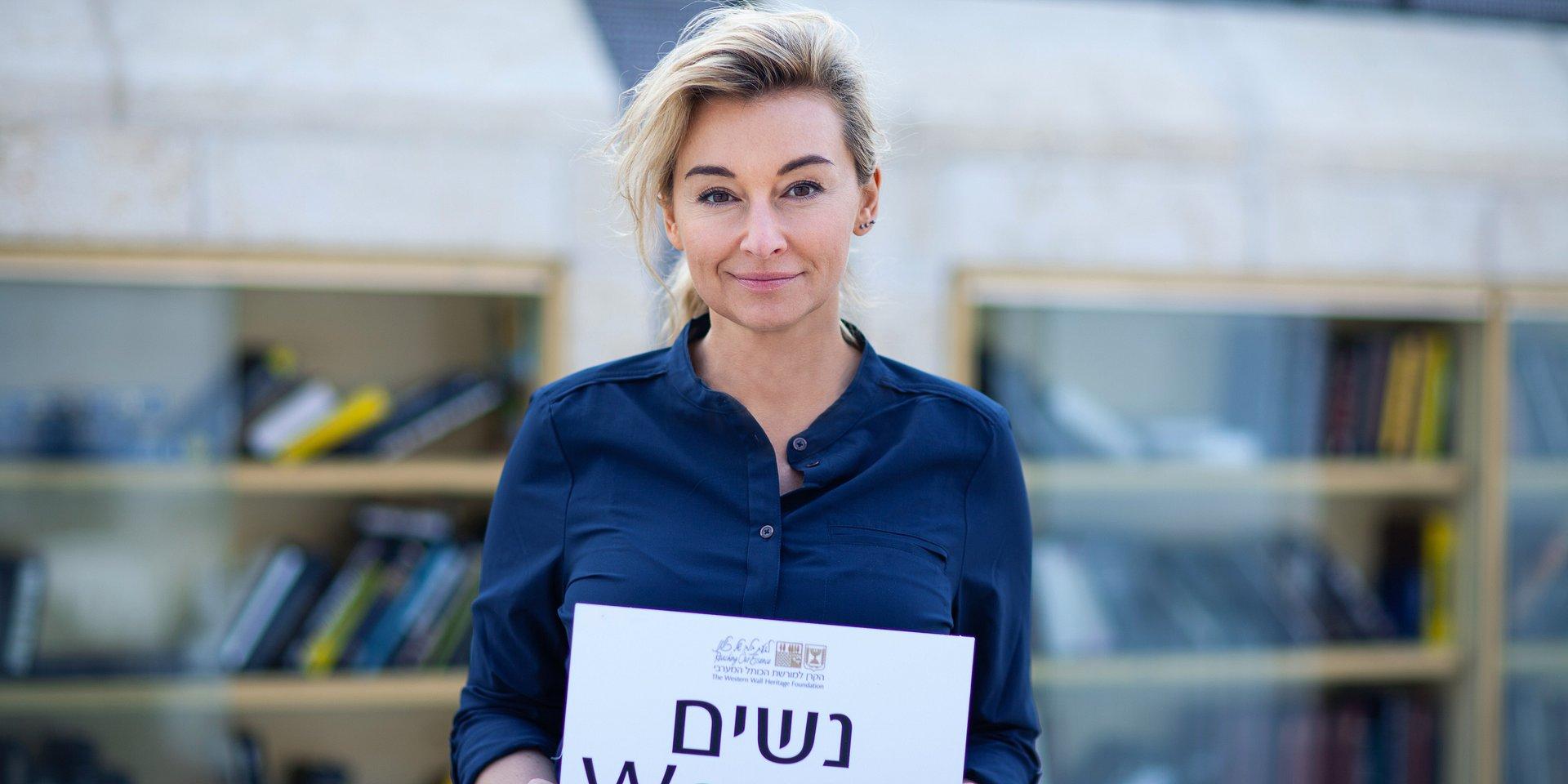Kobieta na krańcu świata w Izraelu!