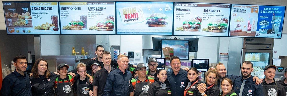 AmRest wprowadza markę Burger King do Rumunii