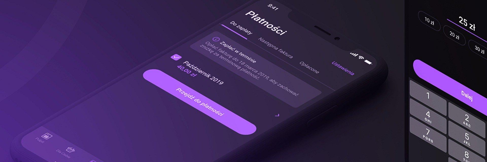 Tryb ciemny także w nowej wersji aplikacji mobilnej Play24