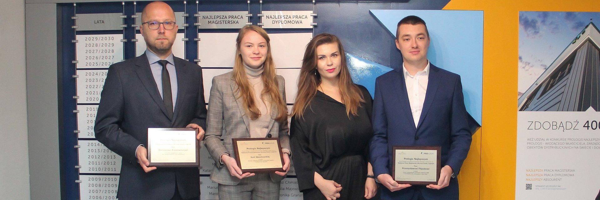 175 000 złotych od Prologis dla najlepszych studentów logistyki