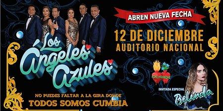 Los Ángeles Azules ofrecerán un nuevo concierto en el      Auditorio Nacional