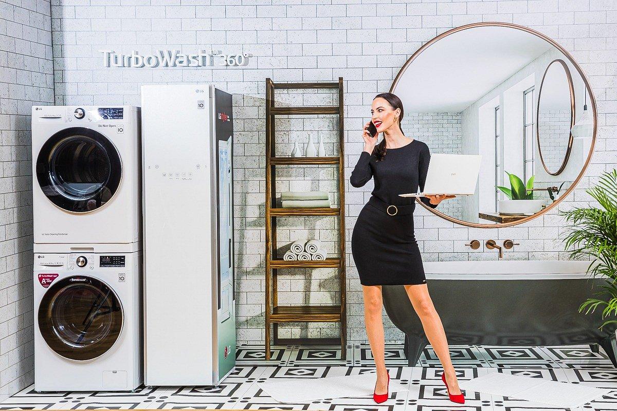 Wyższy poziom inteligencji - LG wprowadza do Polski linię LG Vivace – pralki ze sztuczną inteligencją oraz zaawansowane suszarki