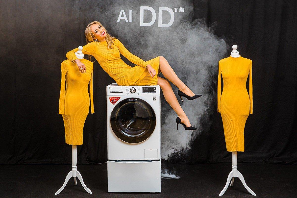 Ekspresowe pranie w 39 minut z LG Vivace – to więcej czasu dla rodziny