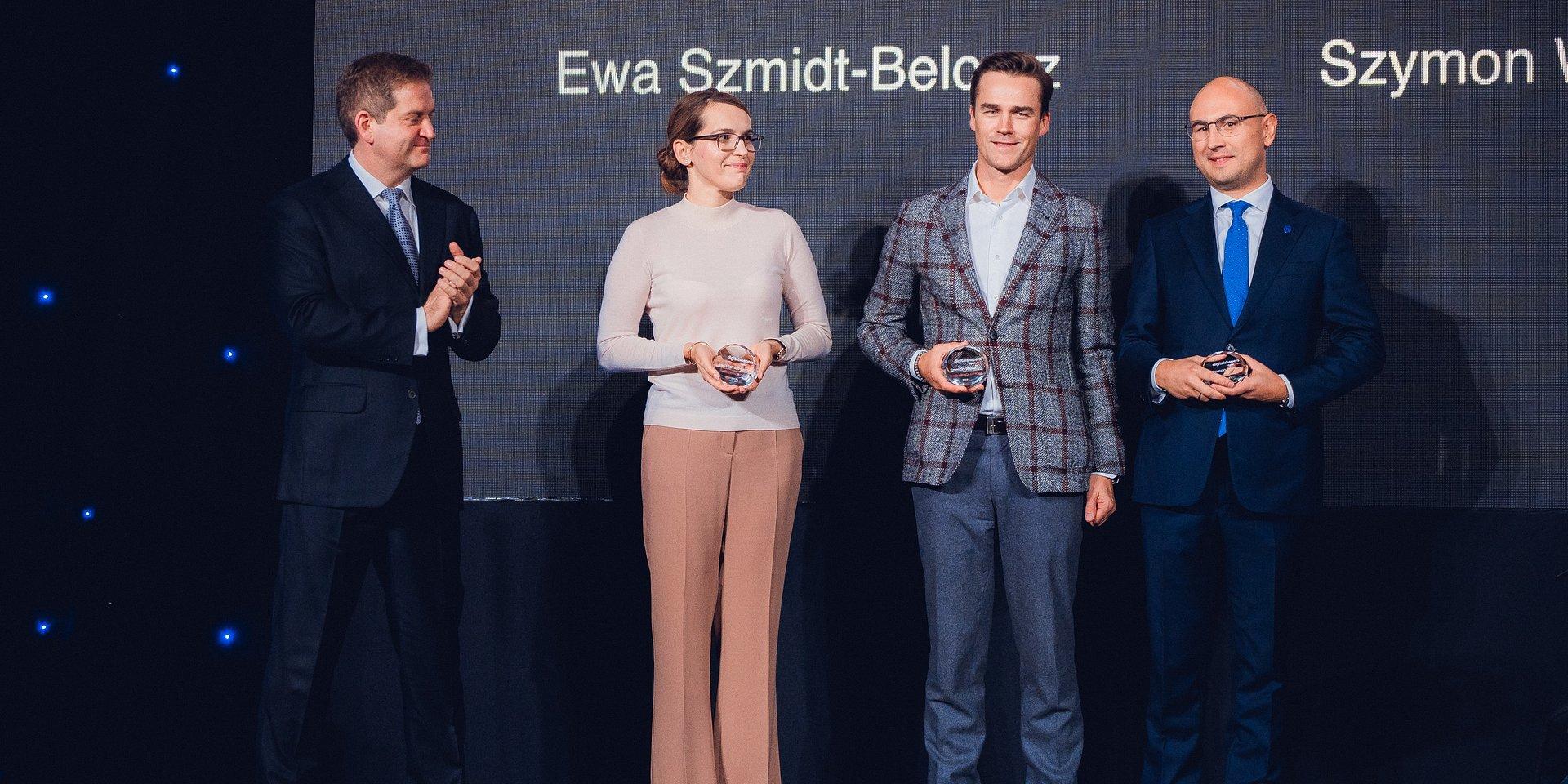 Statuetka Digital Shapers 2019 dla Ewy Szmidt-Belcarz