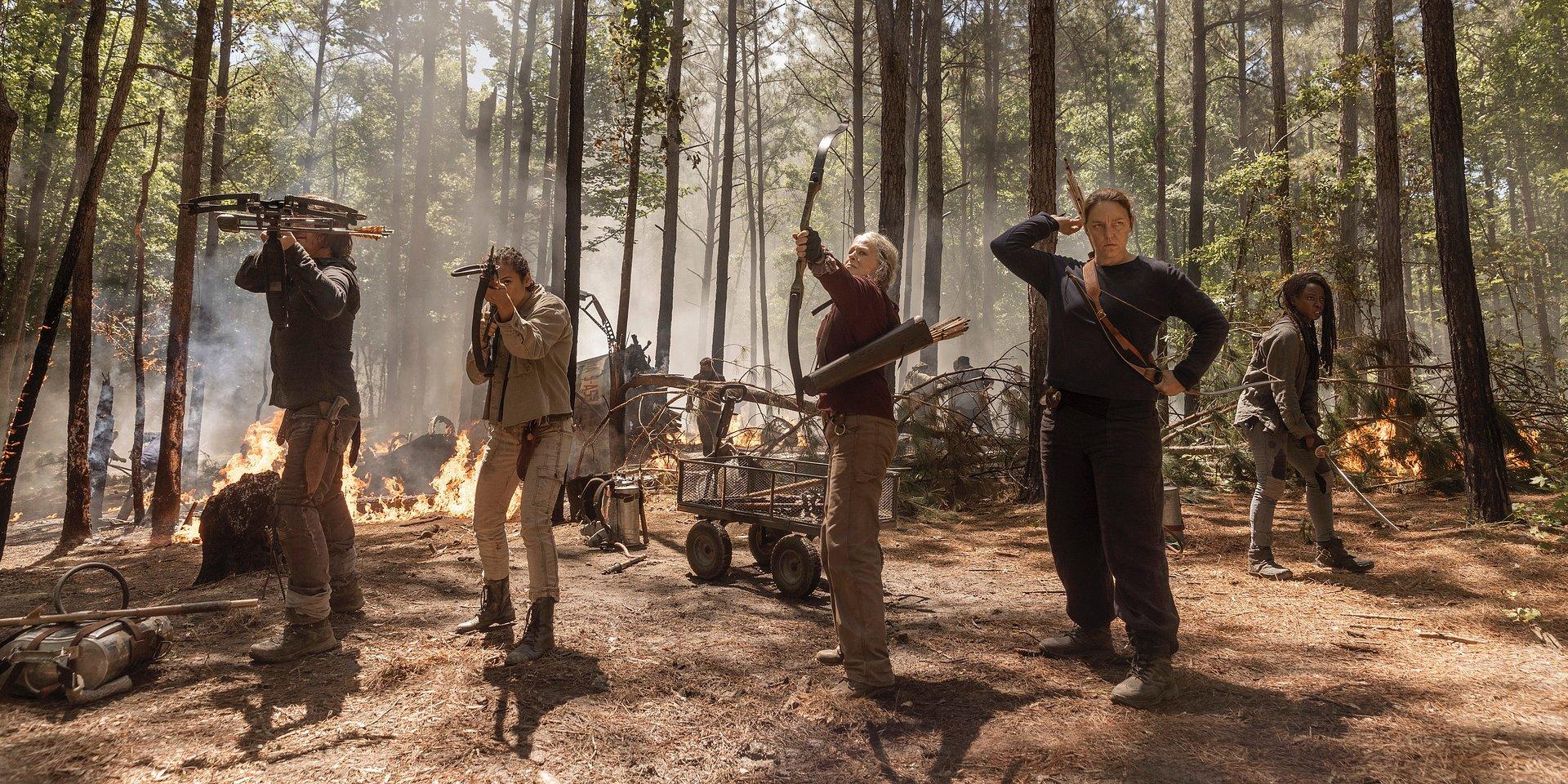 Psychoza i odwet, czyli nowy sezon The Walking Dead już w poniedziałek