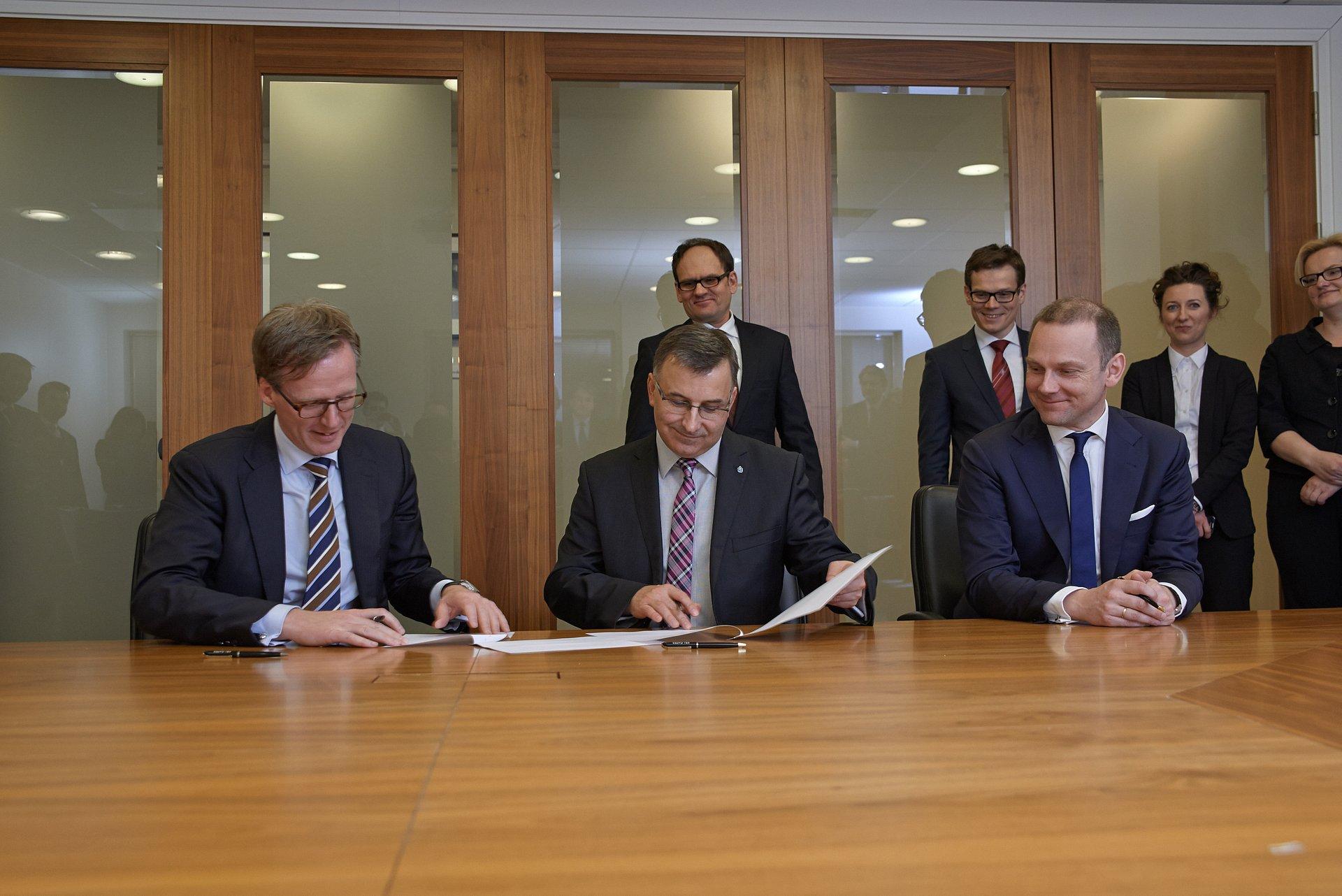 PKO BANK POLSKI TAKES OVER NORDEA'S ASSETS