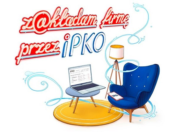 You just need a few minutes to open your business with the PKO Bank Polski transaction website.