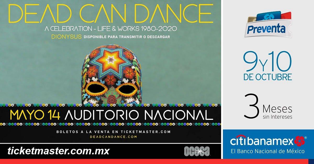DEAD CAN DANCE ANUNCIA REGRESO A MÉXICO