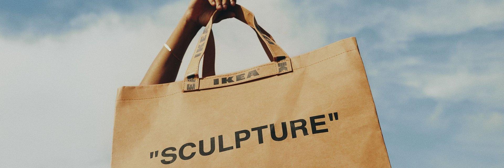 IKEA we współpracy ze światowej sławy twórcą Virgilem Abloh'em, zmienia przedmioty codziennego użytku w ikony designu