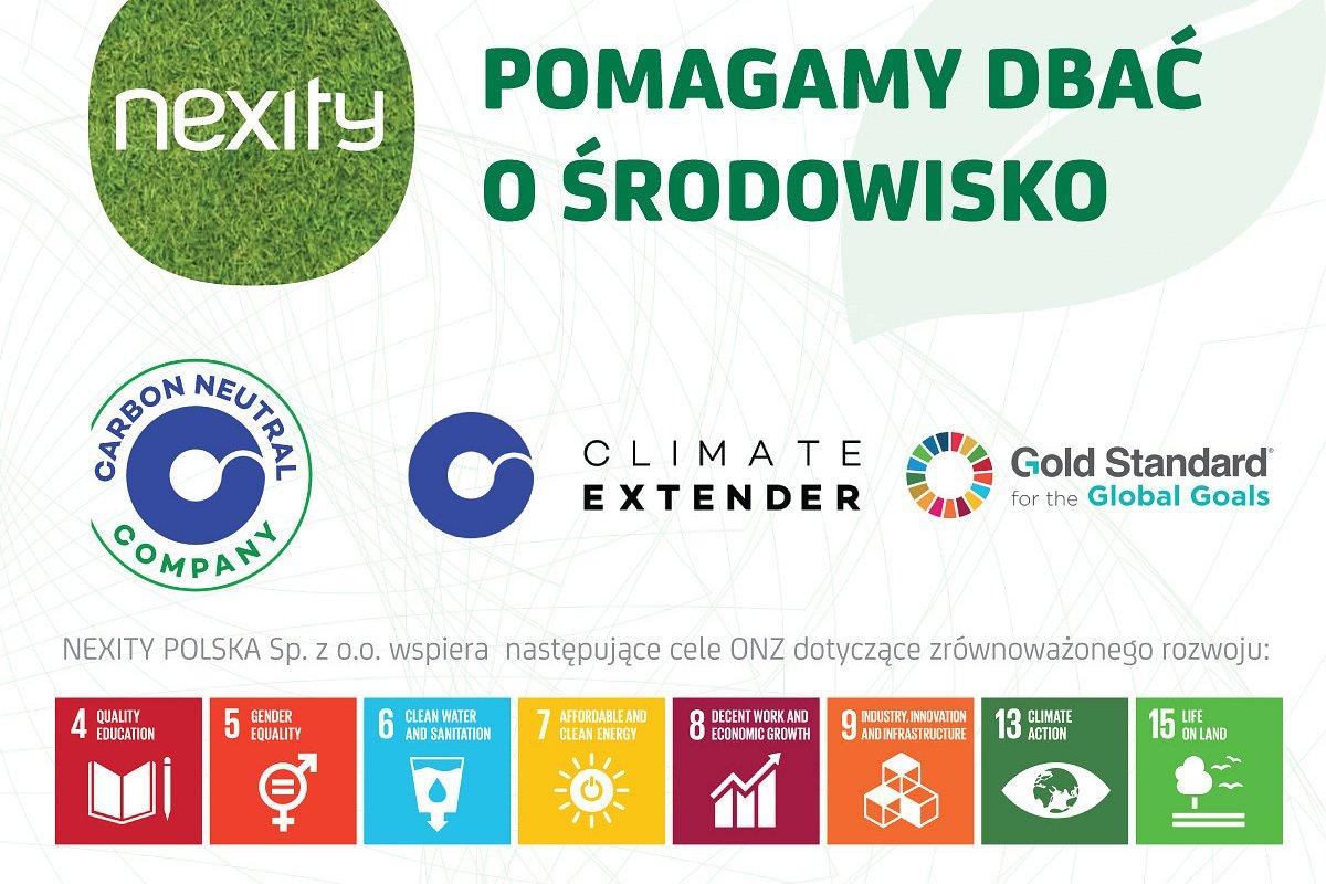 Nexity Polska wspiera globalne projekty na rzecz ochrony środowiska